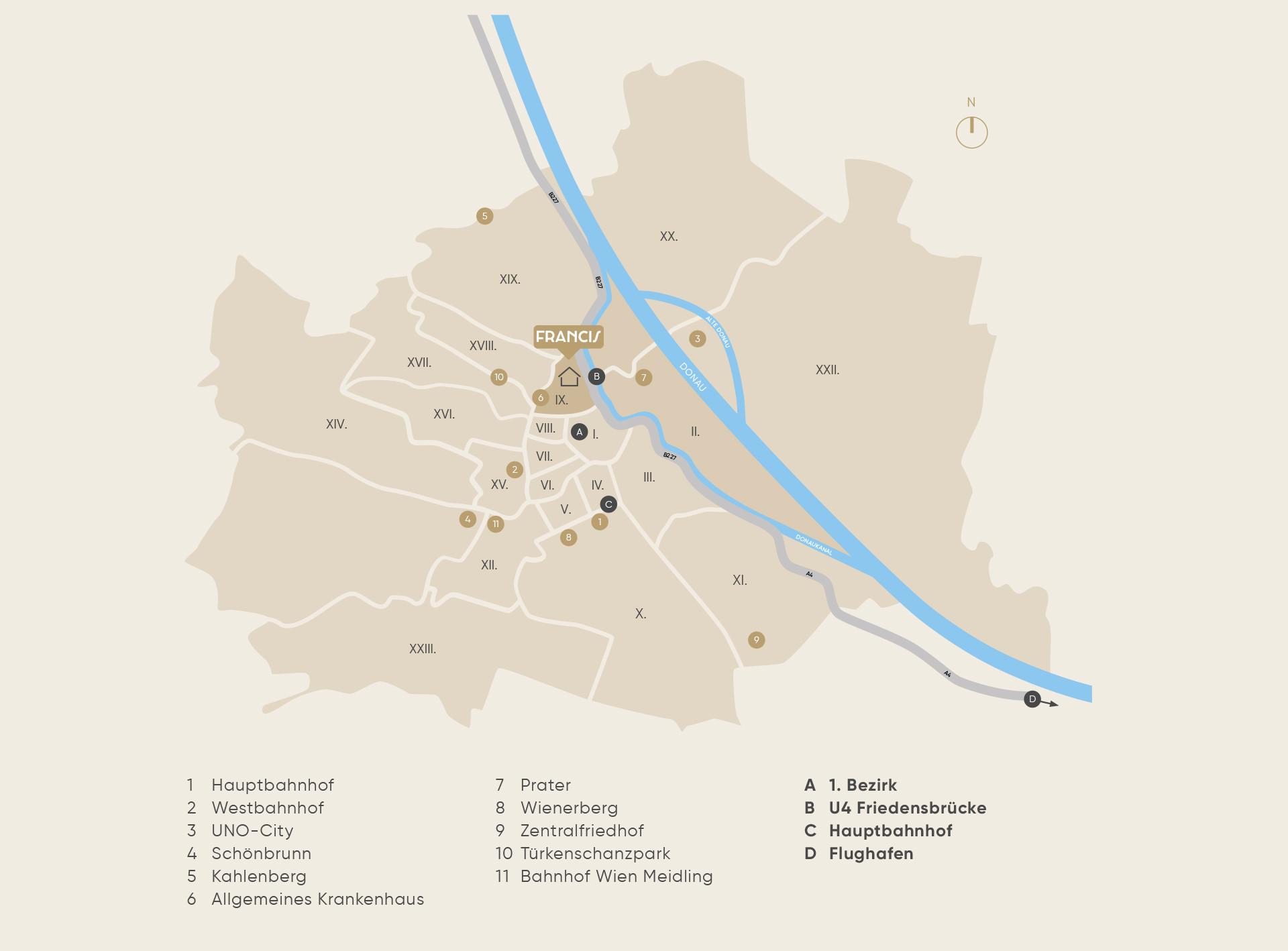 Urbanität in Bestlage